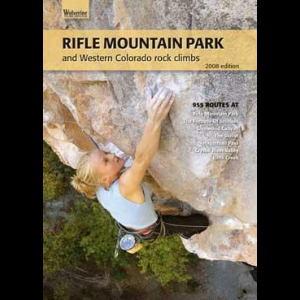 photo: Wolverine Publishing Rifle Mountain Park and Western Colorado Rock Climbs us mountain states guidebook