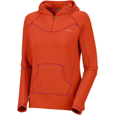 photo: Columbia Anytime Half-Zip Hoodie long sleeve performance top