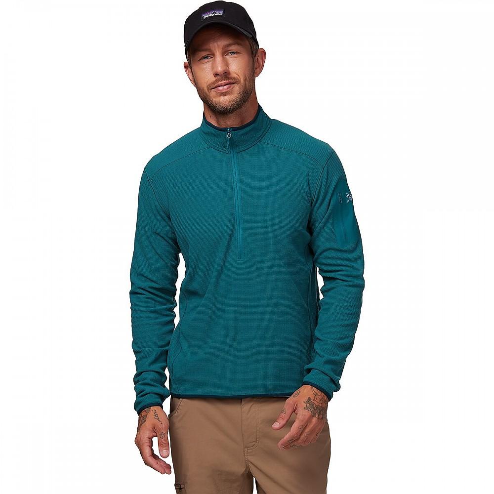photo: Arc'teryx Men's Delta LT Zip Neck fleece top
