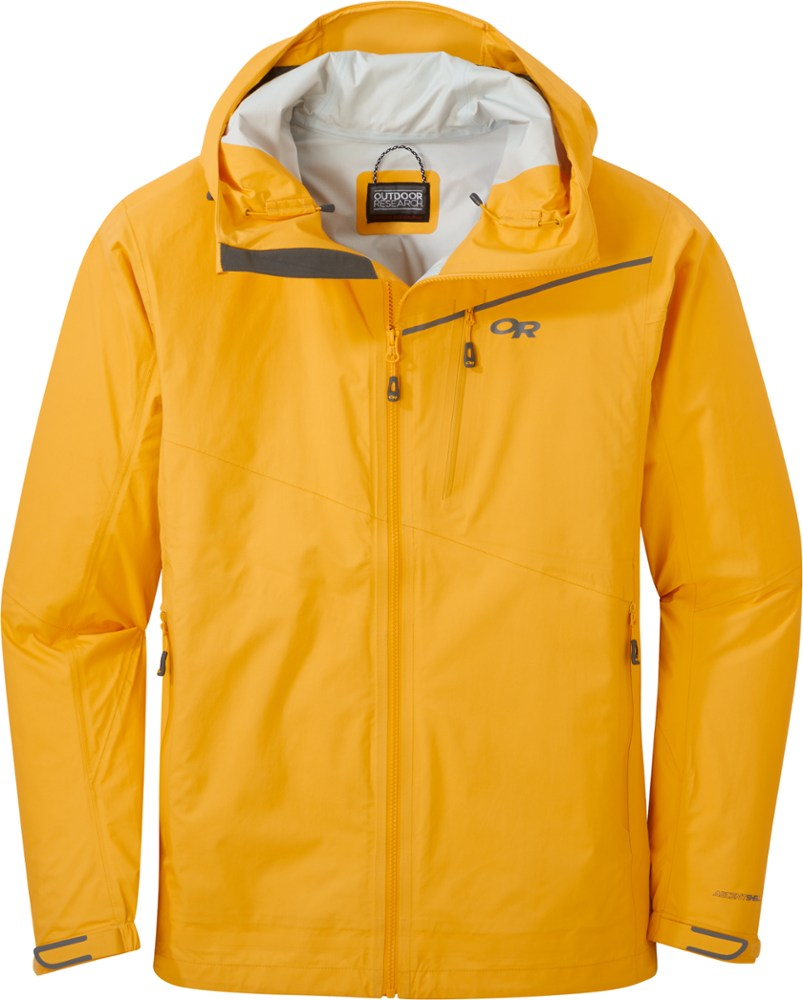 photo: Outdoor Research Interstellar Jacket waterproof jacket