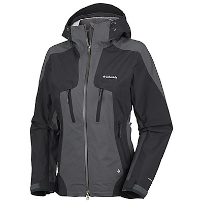 photo: Columbia Women's Compounder Shell waterproof jacket