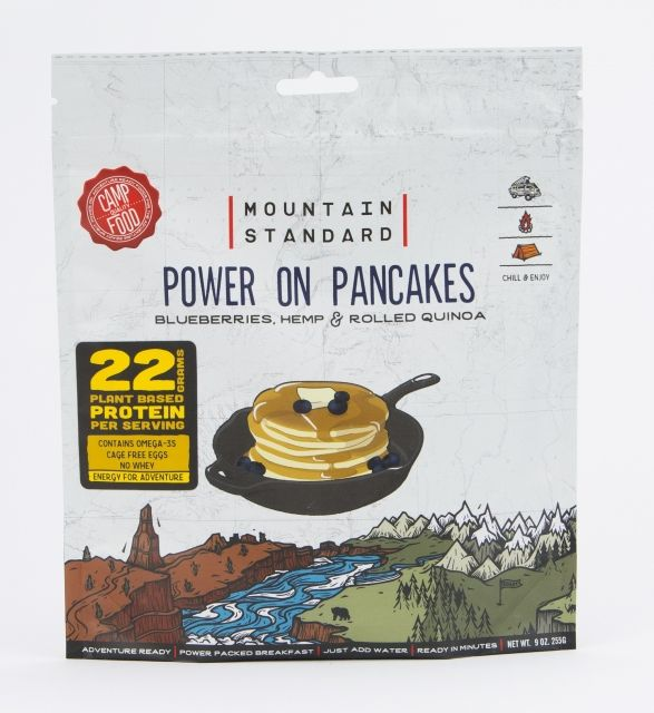 Backpacker's Pantry Mountain Standard Power on Pancakes