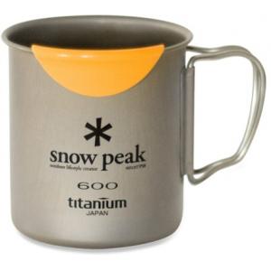 Snow Peak Titanium Single Wall 600 Cup