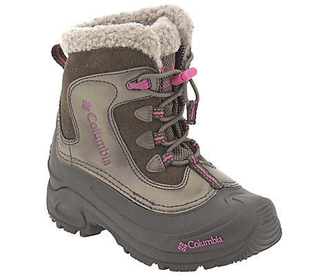 photo: Columbia Girls' Bugaboot Omni-Heat winter boot