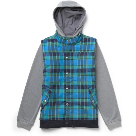 Burton Double Down Fleece Jacket