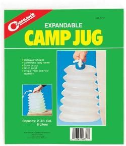 photo: Coghlan's Expandable Camp Jug water storage container