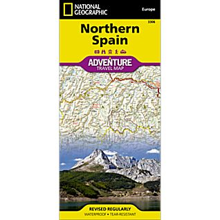 National Geographic Northern Spain Adventure Map