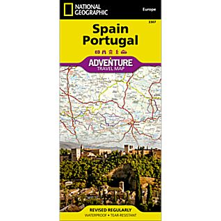 National Geographic Spain and Portugal Adventure Map