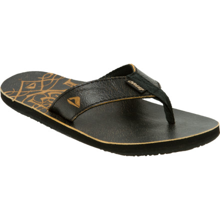 photo: Reef Leather Smoothy flip-flop