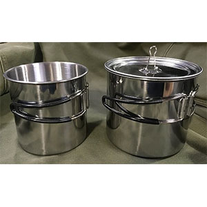 photo: Ozark Trail 3-Piece Cook Set cookware