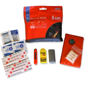 photo: SOL Survival Medic first aid kit