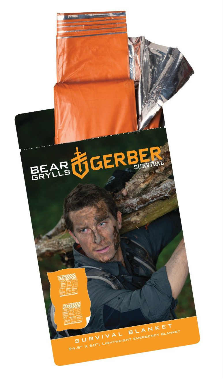Gerber Bear Grylls Survival Blanket