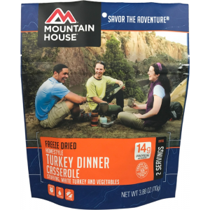 photo: Mountain House Homestyle Turkey Dinner Casserole meat entrée