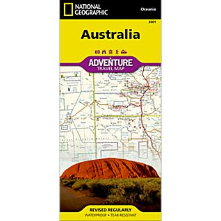 National Geographic Australia Adventure Map
