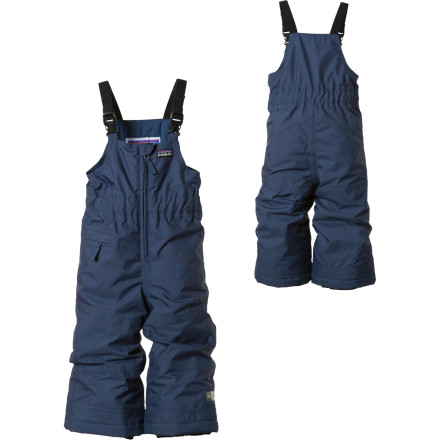 photo: Patagonia Baby Snow Daze Bibs kids' snowsuit/bunting