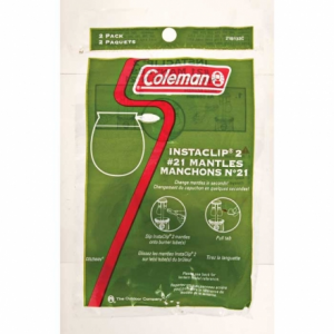 photo: Coleman Instaclip Mantles fuel-burning lantern