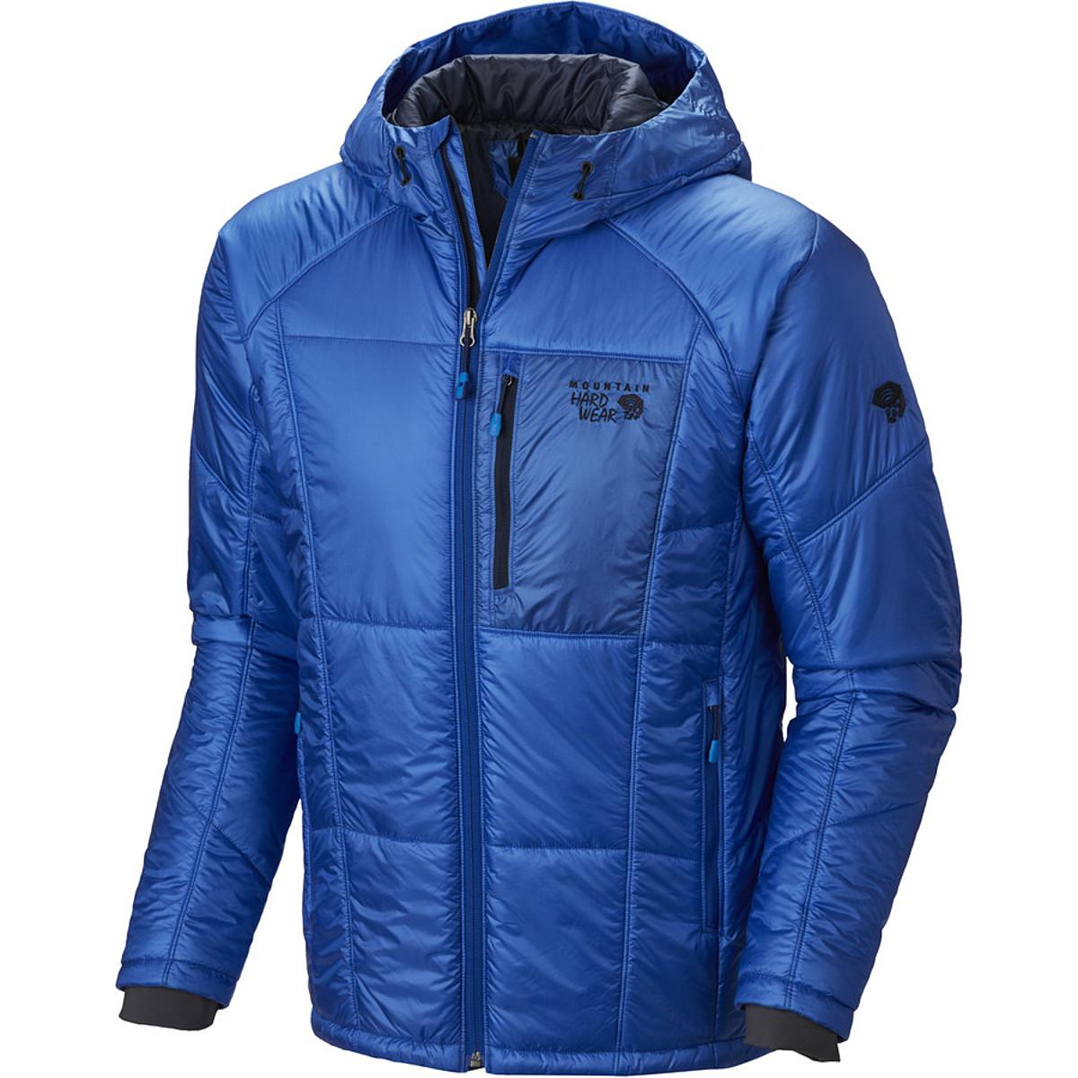 photo: Mountain Hardwear Hooded Compressor Jacket synthetic insulated jacket