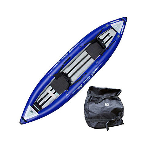photo: Aquaglide Klickitat HB Two inflatable kayak