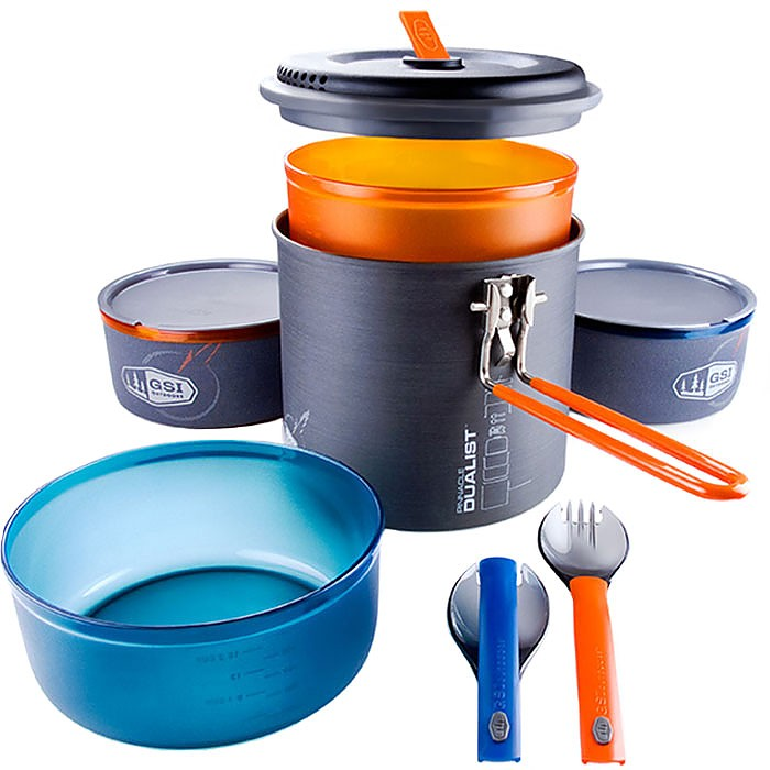 photo: GSI Outdoors Pinnacle Dualist Cookset pot/pan