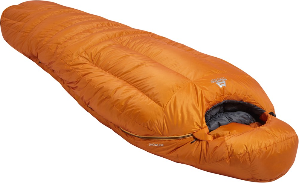 photo: Mountain Equipment Snowline cold weather down sleeping bag