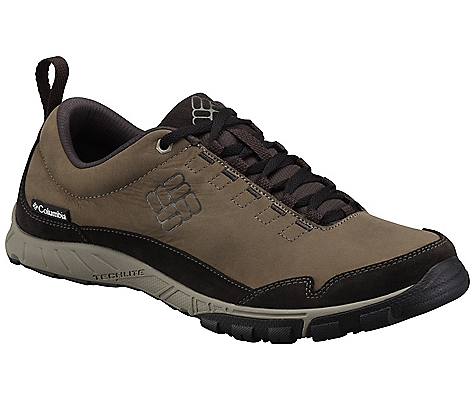 photo: Columbia Flightfoot Leather trail running shoe