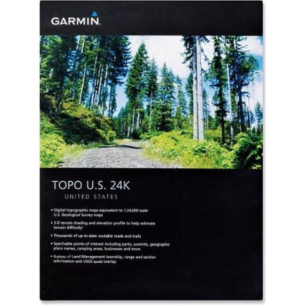 Garmin Topo US Washington & Oregon 24K microSD