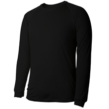 photo: Terramar Men's Filament Silk Crew base layer top