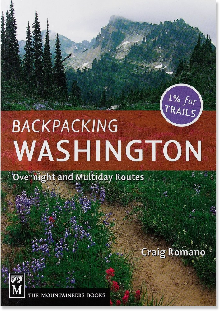 The Mountaineers Books Backpacking Washington