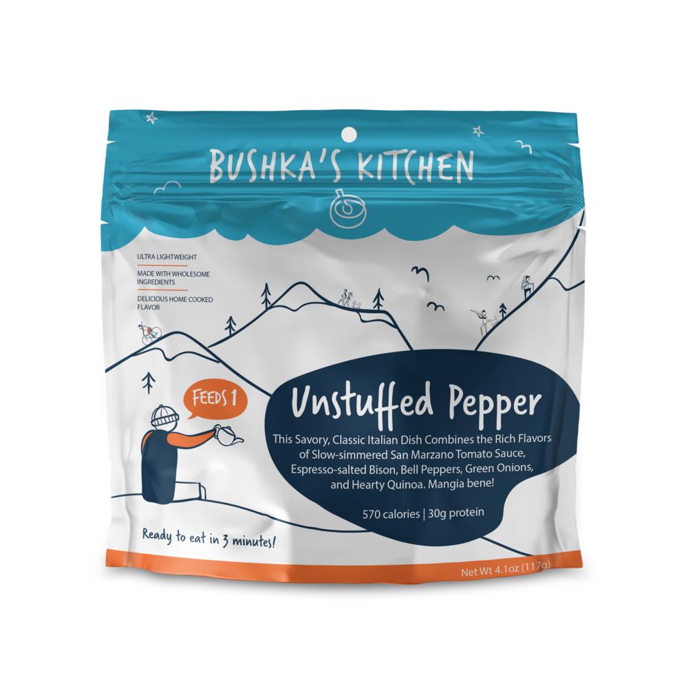 photo: Bushka's Kitchen Unstuffed Pepper with Ground Bison meat entrée