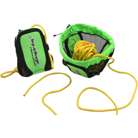 photo of a LiquidLogic throw bag/rope
