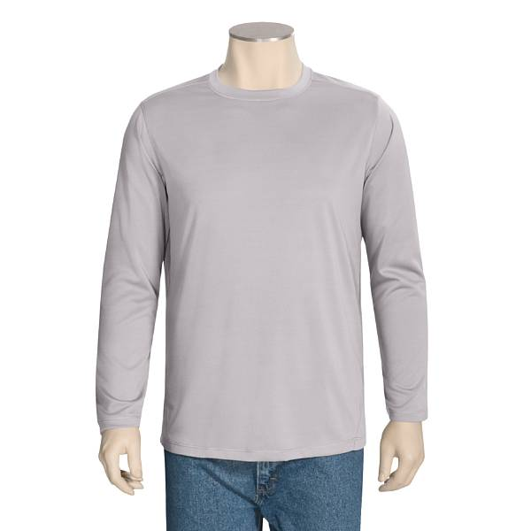 White Sierra Rim Trail Shirt - Long Sleeve