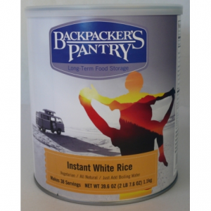 Backpacker's Pantry Instant White Rice