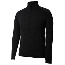 photo: Terramar Men's Thermawool Merino Half Zip base layer top