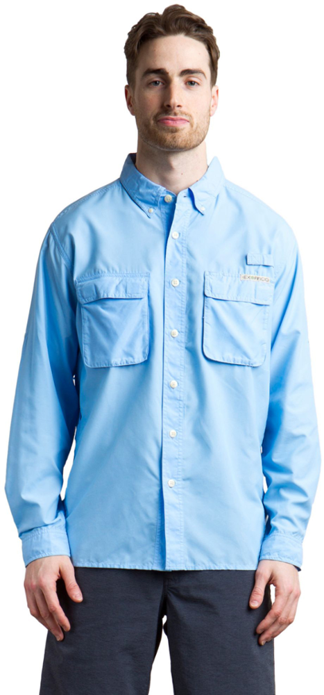 photo: ExOfficio Air Strip Lite Long Sleeve Shirt hiking shirt