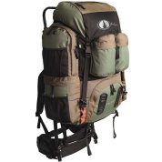 photo of a Black Pine Sports external frame backpack