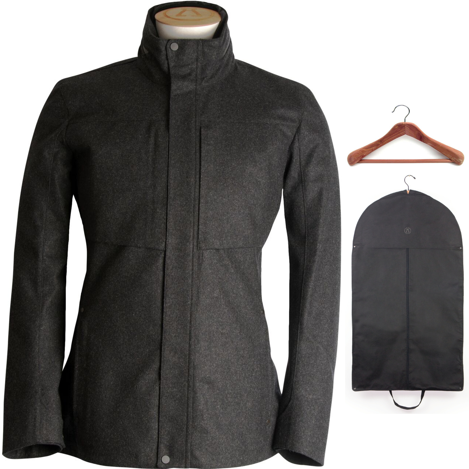 Alchemy Equipment Laminated Wool Jacket