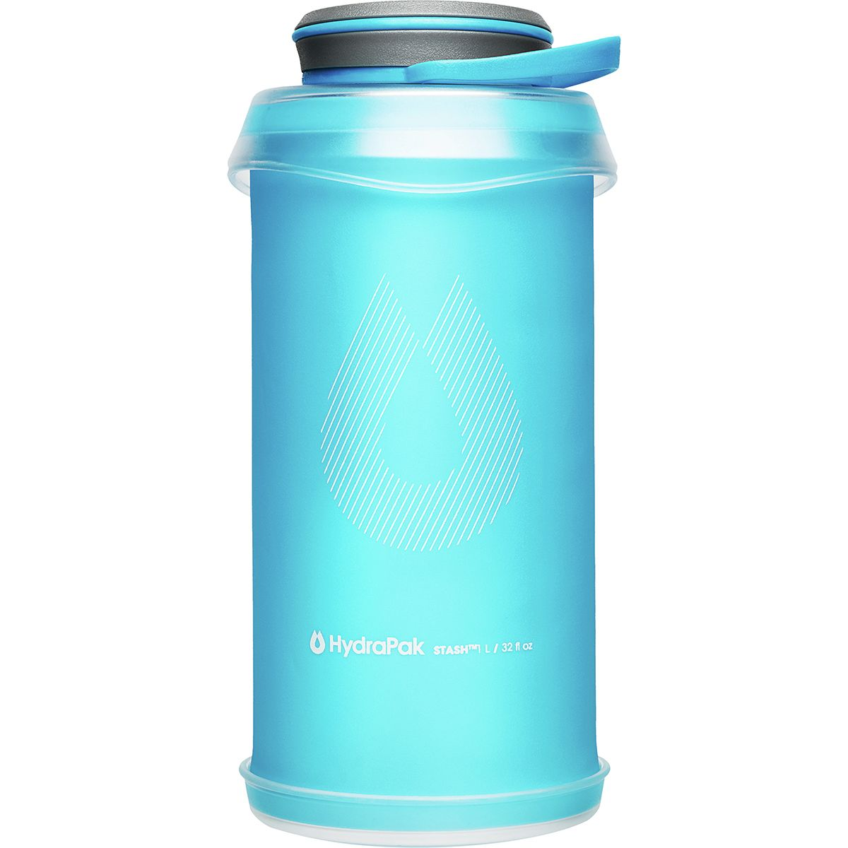 photo: Hydrapak Stash 1L water bottle