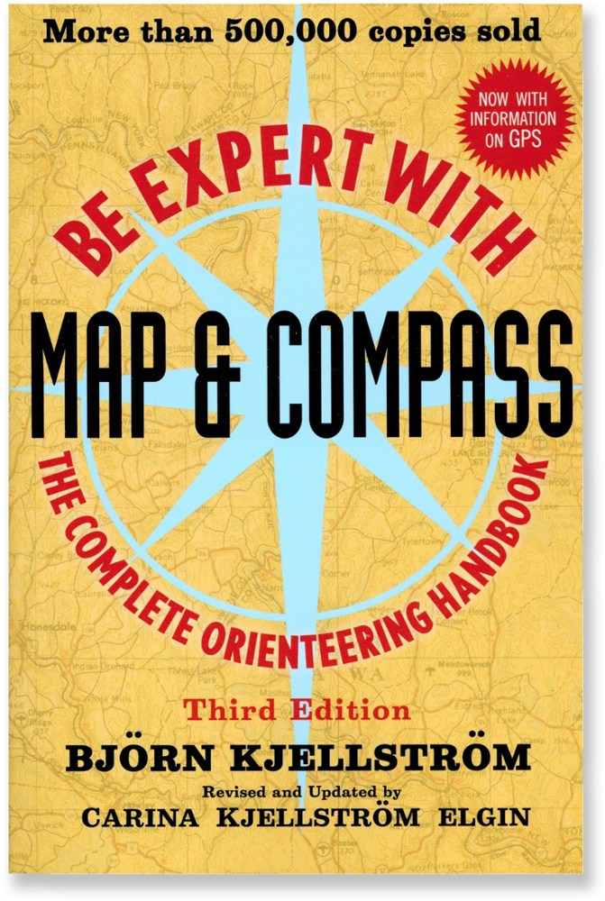 photo: Wiley Be Expert with Map and Compass camping/hiking/backpacking book