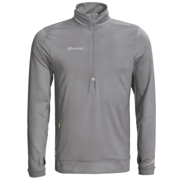 photo: SportHill Nomad II Zip Top long sleeve performance top