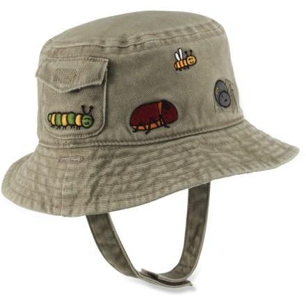 photo: REI Boys' Reversible Bug Print Bucket Hat sun hat