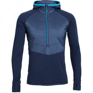 Icebreaker Ellipse Long Sleeve Half Zip Hood