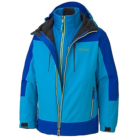 photo: Marmot Boys' Gorge Component Jacket component (3-in-1) jacket