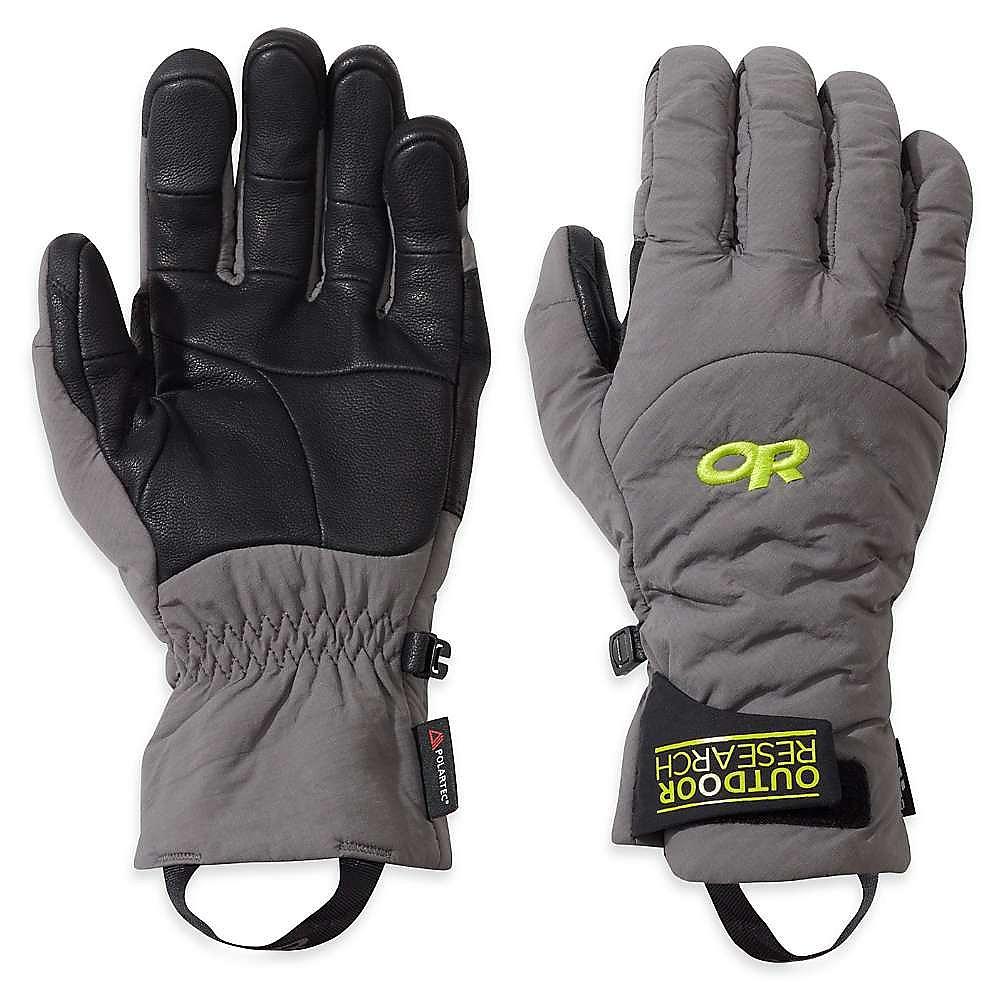 photo: Outdoor Research Lodestar Sensor Gloves soft shell glove/mitten