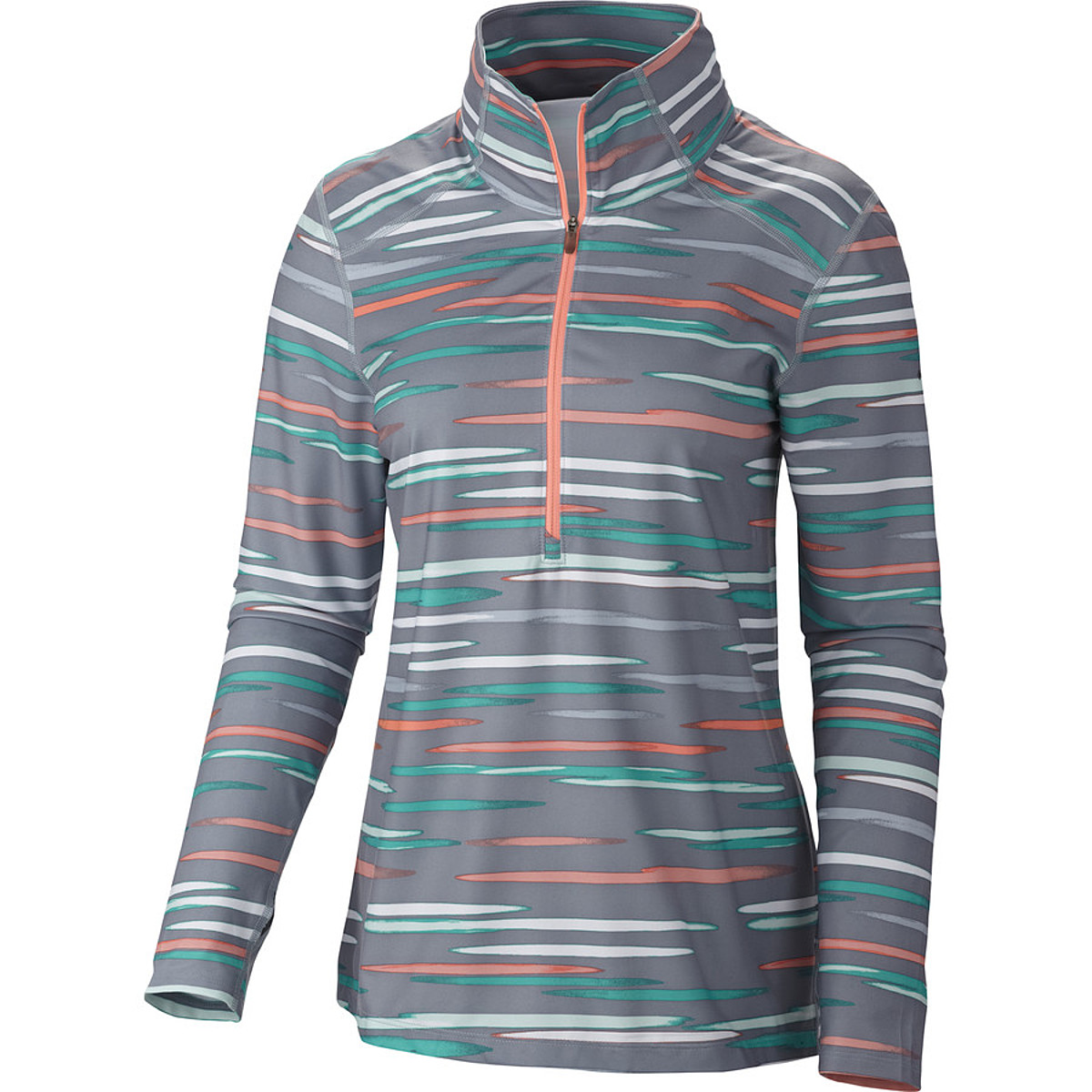 Columbia Trail Crush Printed Half Zip Top