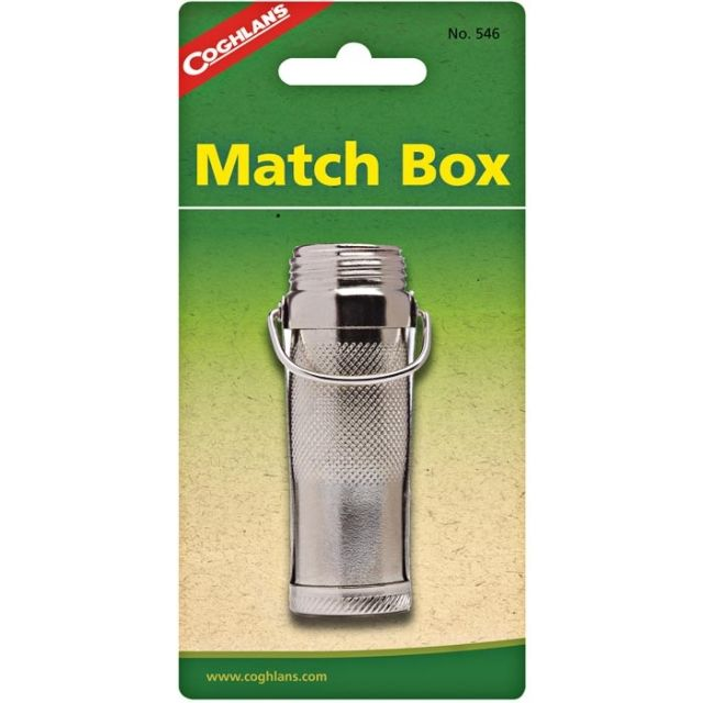 photo: Coghlan's Brass Match Box storage container