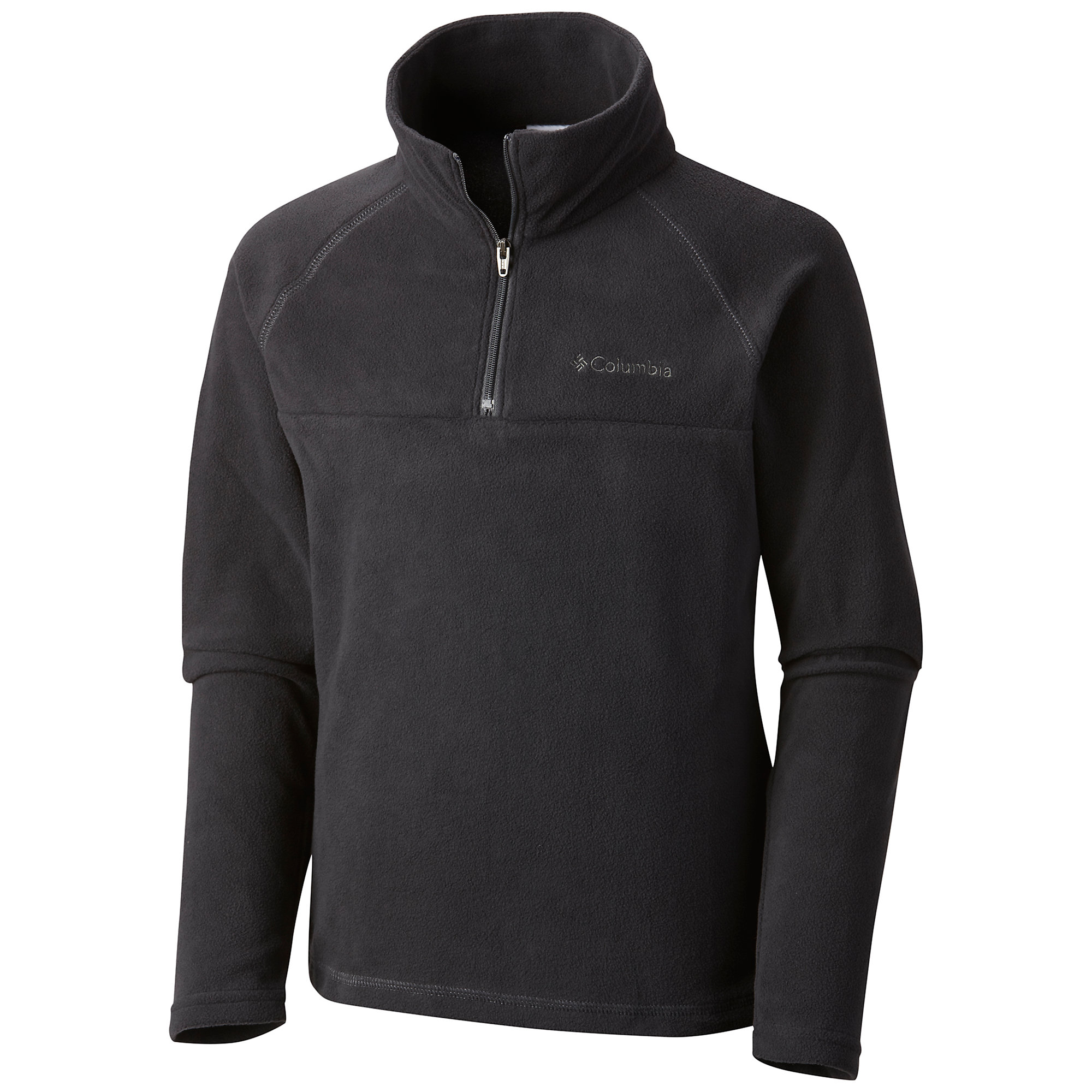 photo: Columbia Boys' Glacial Fleece Half-Zip fleece top