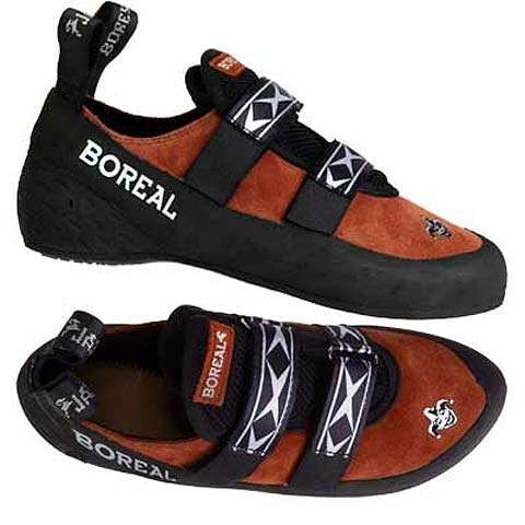 photo: Boreal Joker Velcro climbing shoe