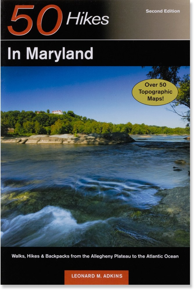 photo: Countryman Press 50 Hikes in Maryland us northeast guidebook