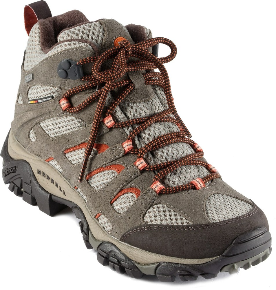 photo: Merrell Women's Moab Mid Waterproof hiking boot