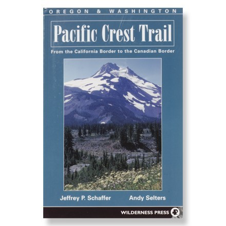 Wilderness Press Pacific Crest Trail Oregon & Washington